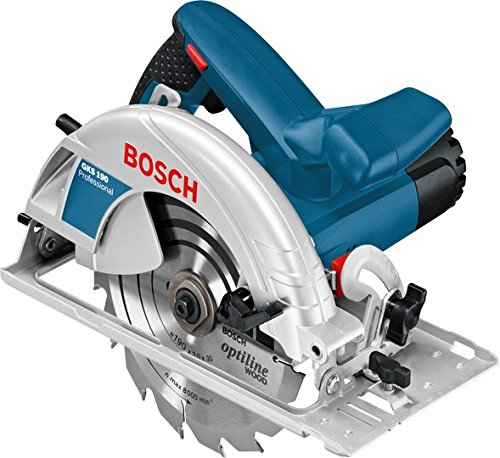 Bosch GKS 190 Professional Hand-Held Circular Saw The powerful and robust tool / 220 Volt 60 Hz , Plug Type C ( Europe Shape )