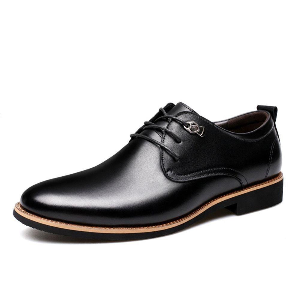 Männer - casual mode schuhe business - schuhe bei männern schuhe leder schuhe anziehen,schwarz,39
