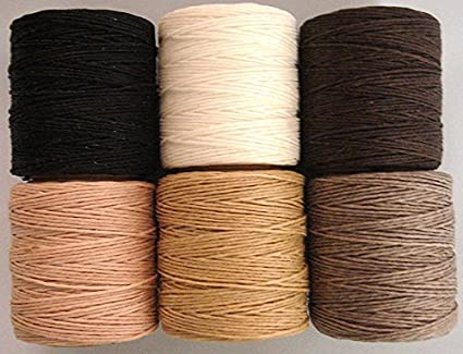 Includes 2 spools. Maine Thread .020 Hot Pink Waxed Polycord 210 feet each