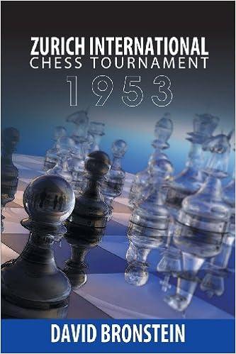 Buy Zurich International Chess Tournament, 1953 Book Online