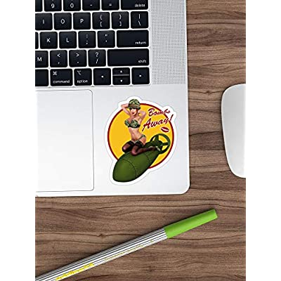 MrMint Bombs Away Stickers (3 Pcs/Pack) 3444638156567: Kitchen & Dining