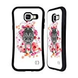 Official Monika Strigel Wolf Animals And Flowers Hybrid Case for Samsung Galaxy A5 (2016)