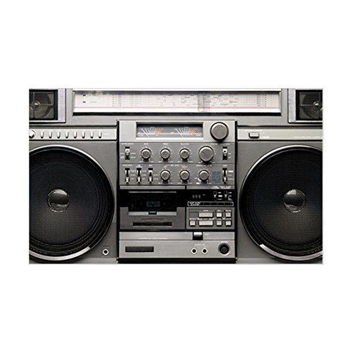 CafePress Boombox Sticker Rectangle Bumper