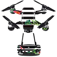 Skin for DJI Spark Mini Drone Combo - Tropical Stripes| MightySkins Protective, Durable, and Unique Vinyl Decal wrap cover | Easy To Apply, Remove, and Change Styles | Made in the USA
