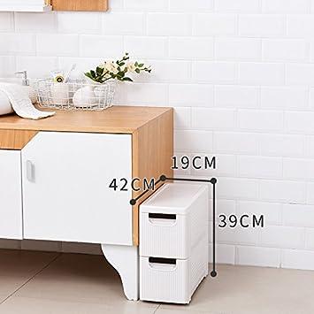 Amazon Com Yan Junau Corner Storage Cabinet Drawer Plastic Slit