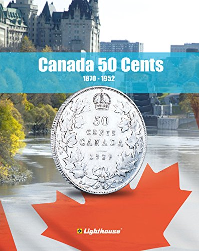 - Lighthouse VISTA Coin Album for Canada 50 Cent, Vol. 1 1870 – 1952