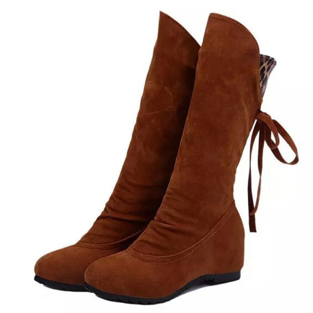 Coloré Fourrées Boots Chaussures Classiques Martin Chaudes Botte (TM) Boots Botte Bottes Femme Hiver Femme Martin Bottes Bottines Plates Jaune ac1caea - shopssong.space