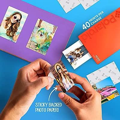 Polaroid Mint Impresora de Bolsillo, Azul + Paquete de 50 ...