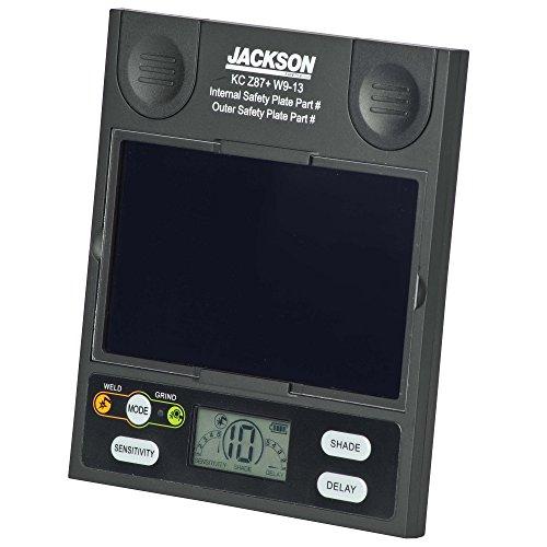 JACKSON SAFETY 46128 Insight Digital Variable Auto Darkening ADF Cartridge, Universal, Black