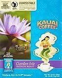 Kauai Coffee Single-serve Pods, Garden Isle Medium Roast – 100% Premium Arabica Coffee from Hawaii's Largest Coffee Grower, Keurig-Compatible Cups - 120 Count