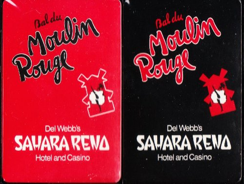 Moulin Rouge Casino - Bal du Moulin Rouge Playing Cards