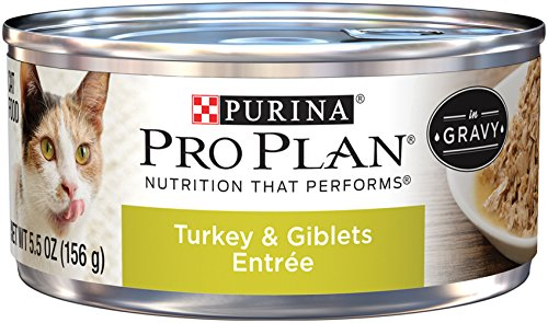 Purina Pro Plan Turkey & Giblets Entree in Gravy Adult Wet Food - (24) 5.5 oz. Can by Purina Pro Plan