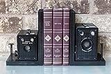Kodak Brownie Target Six-16 - Six-20 - Vintage Camera Bookends