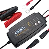 Smart Car Battery Chargers - MASO 2/4/8 Amp 7 Step Battery Trickle Charger Conditioner Lead Acid Motorcycle Boat