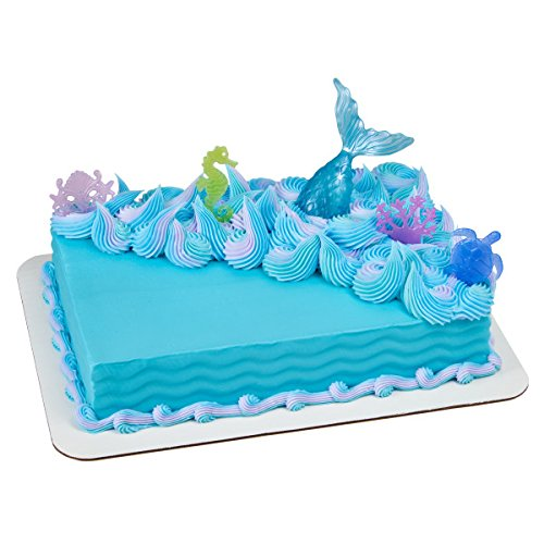 (Mystical Mermaid Cake Topper Decoration)