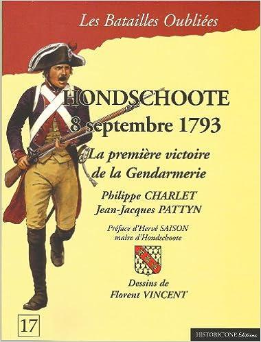 Livre La bataille d'Hondschoote : 8 septembre 1793 pdf epub