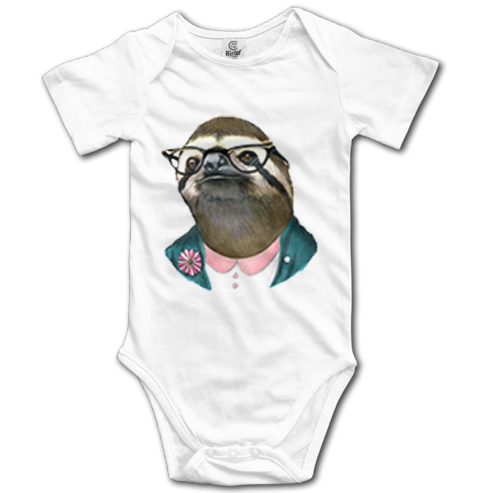 Rainbowhug Sloth Animals Unisex Baby Onesie Cartoon Newborn Clothes Concise Baby Outfits Soft Baby Clothes