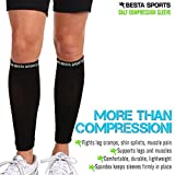 Calf Compression Sleeve by Besta Sports * Preferred