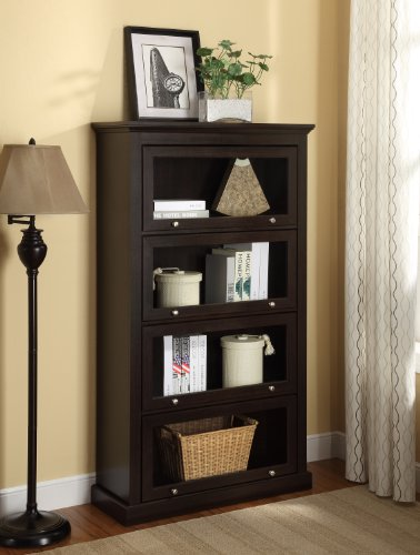 Buy barrister bookcase white