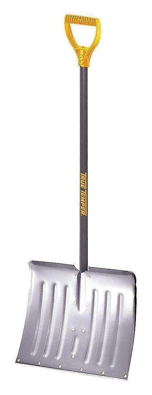 Steel Handle Aluminum Blade Snow Shovel