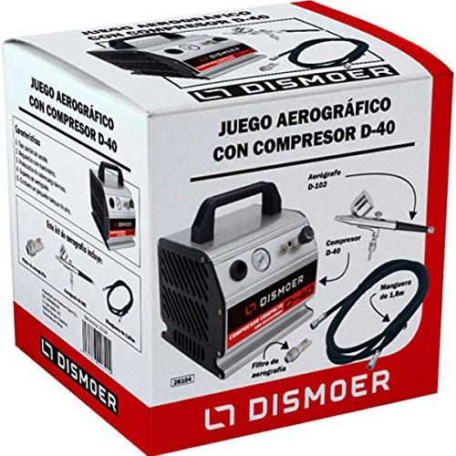 JUEGO AEROGR/ÁFICO CON COMPRESOR D-40 DISMOER