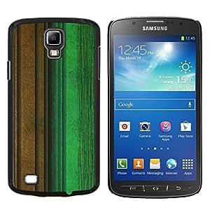 Stuss Case / Funda Carcasa protectora - Calma verde en colores pastel de Brown del trullo - Samsung Galaxy S4 Active i9295