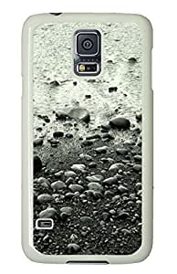 Samsung S5 case most protective Skipping Stones PC White Custom Samsung Galaxy S5 Case Cover