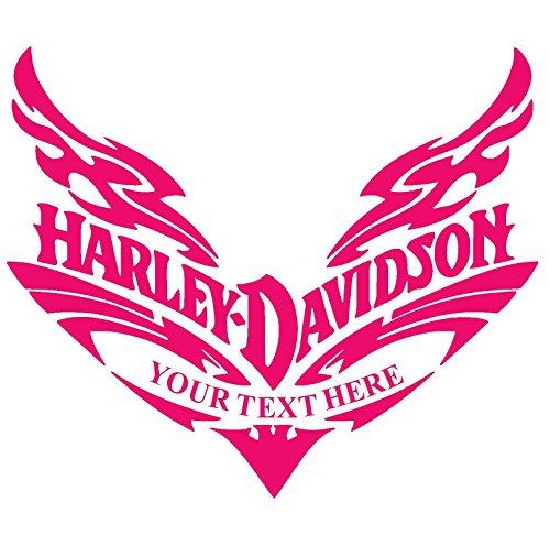 CUSTOM DESIGN HARLEY DAVIDSON Vinyl Sticker Decal for Car Bumper Window Macbook Laptop iPhone Macbookpro (6