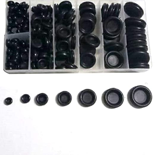 7common Size Rubber Grommet Firewall Hole Plug Electrical Wire Gasket Assortment