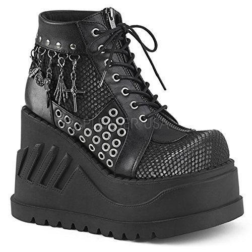 Demonia DEMONIAW Womens STOMP-18/BVL-GYVEL Boots