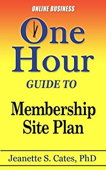 Membership Site Plan Passive Income ebook product image