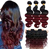 Best Hair Weaves - Ombre Brazilian Hair Body Wave Bundles 3pcs,Ombre Brazilian Review