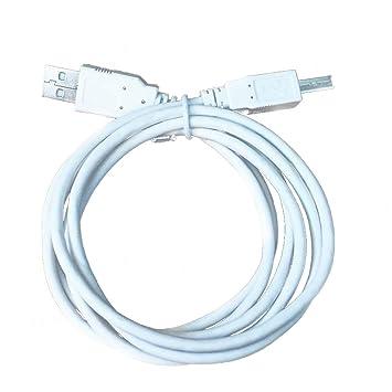 Runfon Cable de la Impresora de Alta Velocidad USB 2.0 A a B/Cable ...