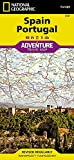 Spain and Portugal (National Geographic Adventure Map)