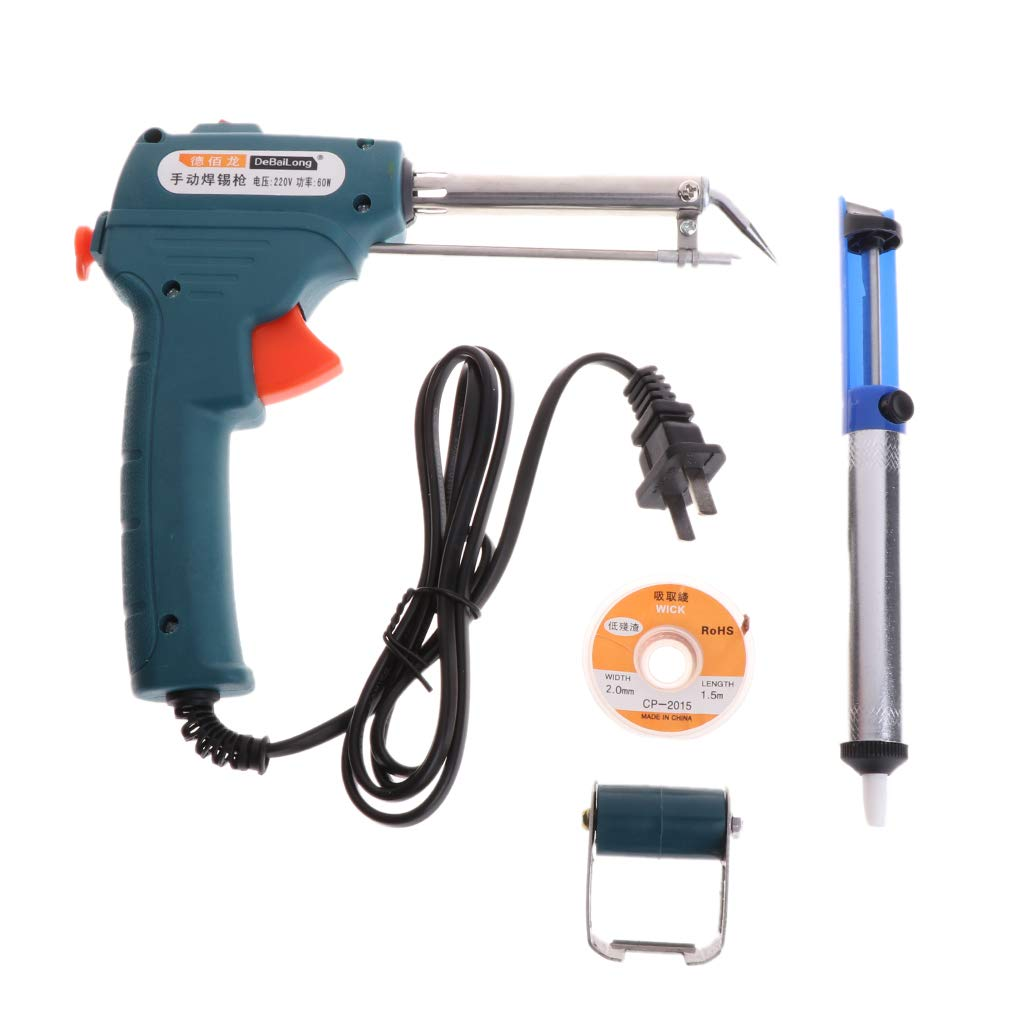 Numkuda Soldering Iron Kit 60W 220V Adjustable Temperature Automatic Send Tin Welding Tool
