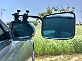 Falcon by Milenco Super Steady Towing Mirrors - Pair