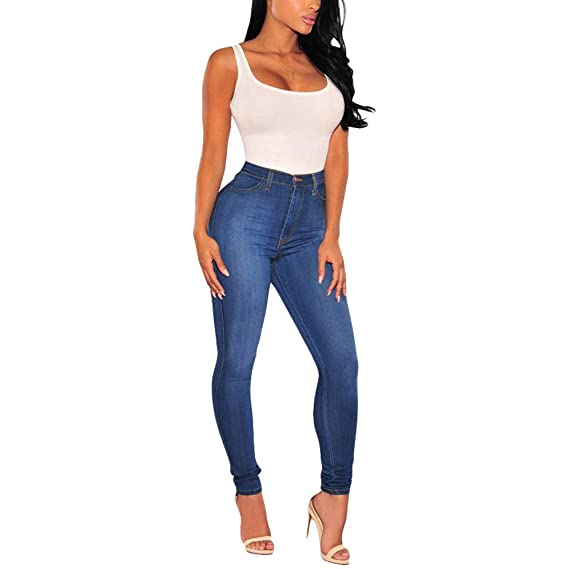 latest discount new design genuine shoes Pantalon Femme Jean Taille Haute Slim Chic, Koly Jeans ...