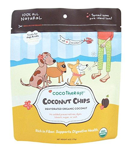 CoCoTherapy Coconut Chips - 6 oz, (Pack of 2)