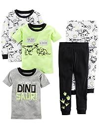 Carter's - Pijama de algodón para niños (5 Piezas)