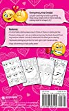 Emoji Love Coloring Book 30 Cute Fun Pages: For Adults, Teens and Kids Great Party Gift (Travel Size) (Officially Licensed Emoji Coloring Book Series) (Coloring Book Mini)