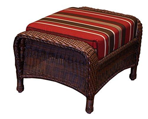 Tortuga Outdoor Garden Patio Lexington Ottoman - - Chair Lexington Club Tortuga