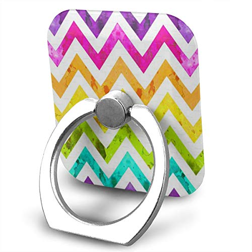 Phone Stand Rainbow Ombre Ring Phone Holder Adjustable 360° Rotation Finger Ring Stand for IPad, Kindle, Phone X/6/6s/7/8/8 Plus/7, Divi, Accessories Desk, Android Smartphone ()