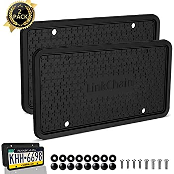BOXING Metal Heavy Duty License Plate Frame Tag Border