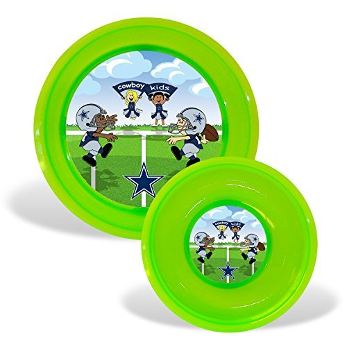 Football Kids Toddler Plate Bowl