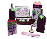 C.R. Gibson Lolita Wine Tasting Party Kit