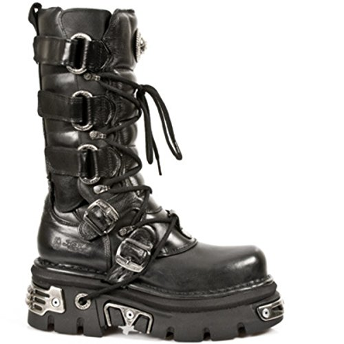 New Rock Schuhe Boots (474-s1) Black - N-8-11-700-00 43