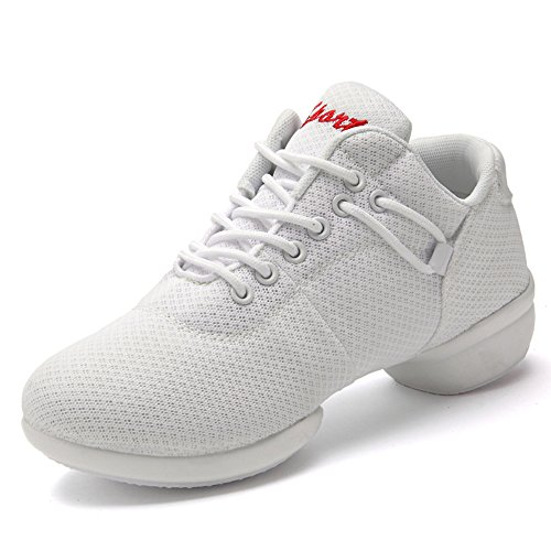 Tango Zapatos Jazz Deportivas de Mujeres Tac Hip Zapatillas Fitness Danza Hop Mesh Yoga I6wqRUTZaU