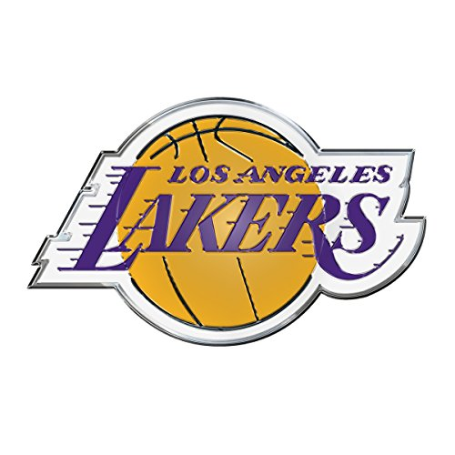 NBA Los Angeles Lakers Color Auto Emblem, One Size
