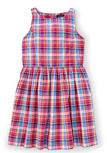 Ralph Lauren Polo Girls Plaid Madras Sleeveless Dress (Ralph Lauren Polo Girls Madras)