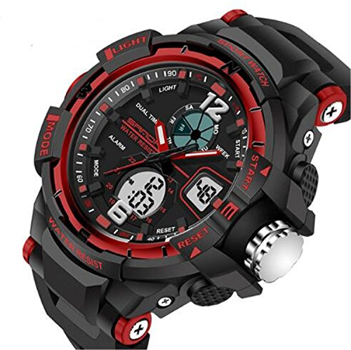 Kids Watches Outdoor Sports Children Watch Stopwatch Quartz Watch Boy Girls LED Digital Alarm Wristwatch